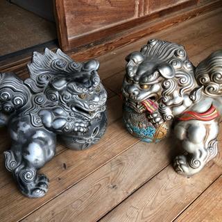 アンティーク 骨董 狛犬 シーサー