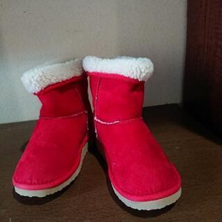 VAN  子供用ブーツ 赤  20㎝