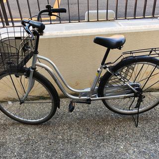 古くないです。26インチ自転車 シティサイクル ママチャリ