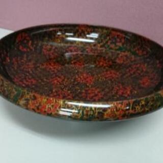 津軽塗 菓子器 高台 菓子鉢