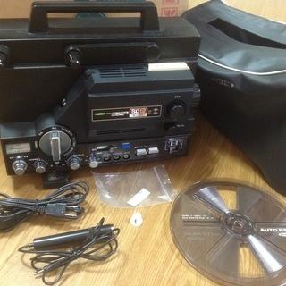 ベルト交換 動作確認済み 8mm映写機 フジカスコープ サウンド...