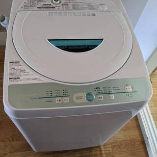 全自動洗濯機 シャープ SHARP 【ES-GL45】洗濯容量...
