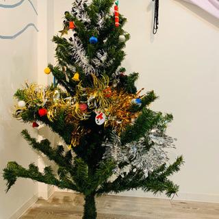 約160cm昭和レトロなクリスマスツリー《電飾付》