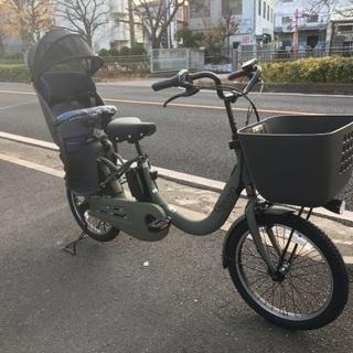 パナソニック子供乗せ電動自転車 ギュットクルームR・EX マット...
