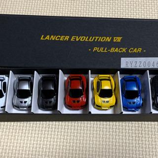 三菱ランサーエボリューション7 プルバックカー7台セット