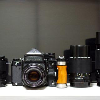 Pentax 67ttl グリップ レンズ4本105/135/2...