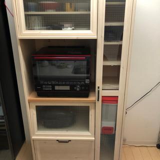 【ジャンク品】食器棚 キッチンボード