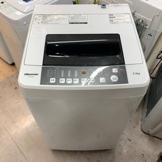 安心の6ヶ月保証付 Hisense 2016年製 全自動洗濯機 ...