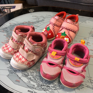 子ども用★靴 3足セット(12センチ)