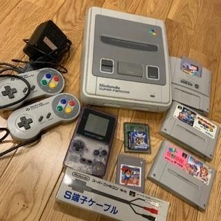 【取引中】スーパーファミコン ゲームボーイカラー ソフト5本♫