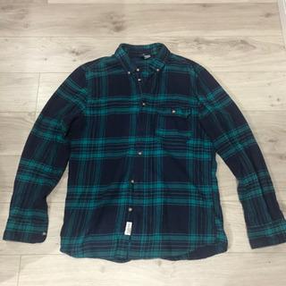 メンズ H&M チェックシャツ