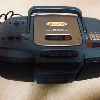 AIWA CDラジカセ CSD-EX170G 95年製