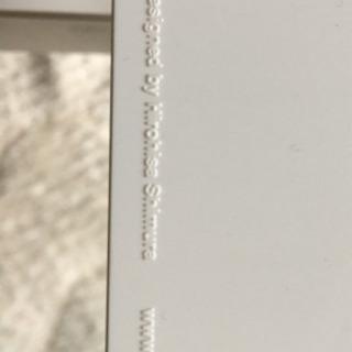 ブランド ティッシュケース ティッシュBOX白 - 生活雑貨