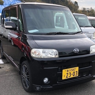 ④タント‼️走行80500キロ‼️支払い総額¥21万円‼️徳島