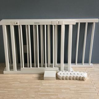 【ファルスカ】木製ベビーサークル + 120パネル2枚セット