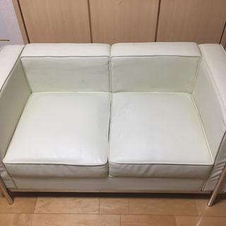 ル・コルビジェ ソファ ポケットコイル リプロダクト品 ホワイト...