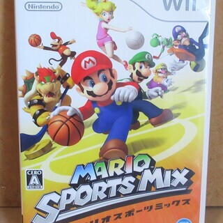 ☆Wii/MARIO SPORTS MIX マリオスポーツ…