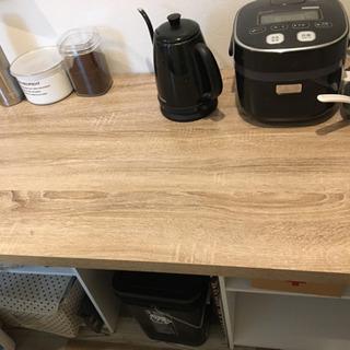 テーブル収納  棚