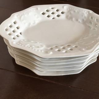 おしぼり用皿6枚組