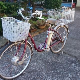 動作確認済み! 電動アシスト自転車 中古品 Sanyo Enel...
