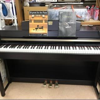美品!! 最高級!! ヤマハ 電子ピアノ 鍵盤象牙調仕上げ! 定...