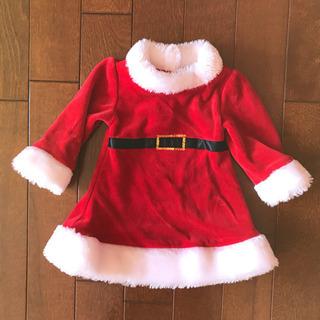 美品 サンタクロース ワンピース 60 3ヶ月