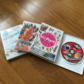Wiiソフト  4枚セットWii スポーツなど