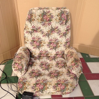 ■Z383■バイブ付き健康座椅子 マッサージチェア 椅子 株式会社安眠
