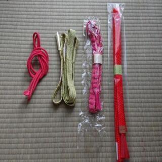 帯紐 (新品未使用500円  それ以外は300円)