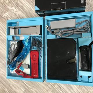 Wii 本体 黒 リモコンプラス1個付き