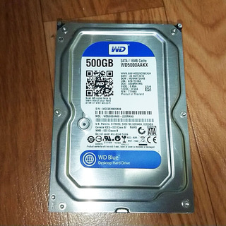 HDD 500GB WD5000AAKX  3.5インチ ハード...
