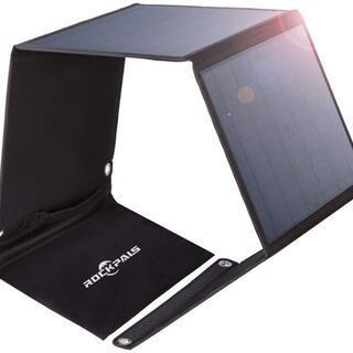 Rockpals ソーラーパネル 50W  新品