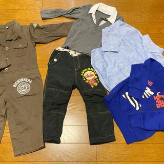 男児服5点セット売り サイズ95