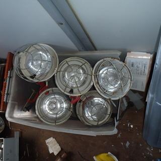 投光器 100V 5個 ジャンク