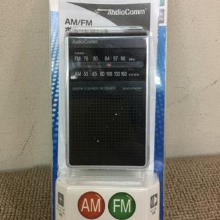エイブイ:オーム電気ポータブルラジオRAD-F123M