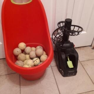 テニスパートナートスとボールセット