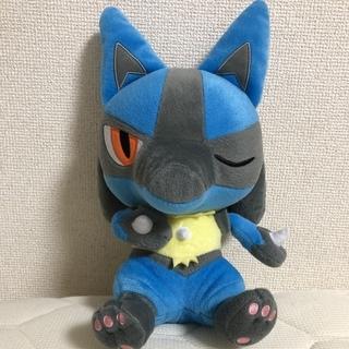 【ぬいぐるみ】ルカリオ(ポケモン)