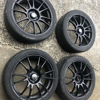 OZ ホイール18インチ タイヤ付き 4穴 フィット