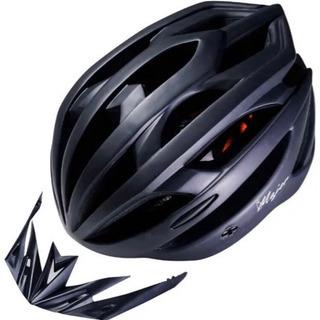自転車用 ヘルメット (ロードバイク クロスバイク) LED シ...