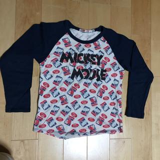 UNIQLO ミッキー 長袖Tシャツ 130 (男女兼用)