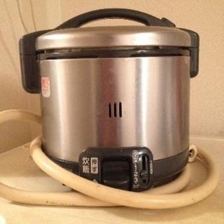 (商談中)リンナイ ガス炊き3号 炊飯器