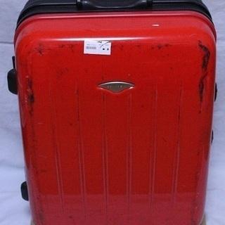 大型 赤黒 スーツケース 5泊6日程度