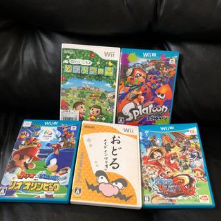 Wii、Wii U カセット