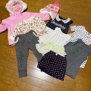 女児服10点セット サイズ90