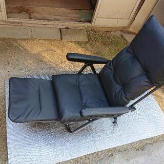 折りたたみ椅子   リクライニング