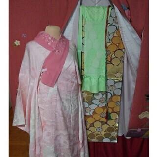 振り袖E、長襦袢、袋帯、小物セット - 服/ファッション