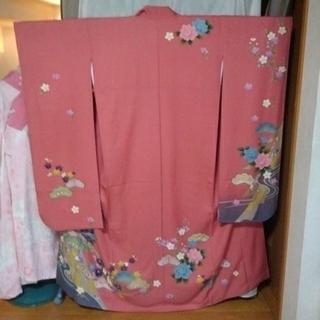 振り袖E、長襦袢、袋帯、小物セット − 京都府