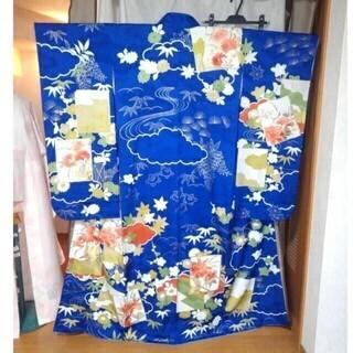 振り袖K、長襦袢、袋帯、小物セット - 服/ファッション