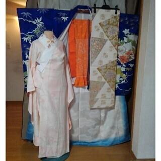 振り袖K、長襦袢、袋帯、小物セット − 京都府