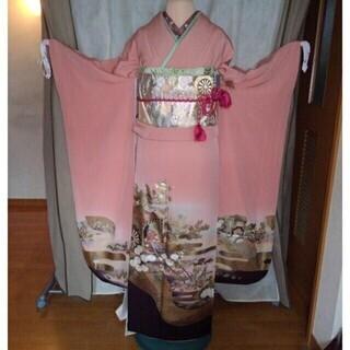 振り袖M(お姫様)、長襦袢、袋帯、小物セットの画像